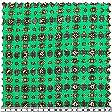 Minimal-Seiden-Satin, abstrakt, mehrfarbig, 135 cm breit,