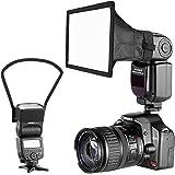 Neewer Cámara Kit de Speedlite Flash Softbox Caja de Luz y Reflector Difusor para Canon Nikon y Otras Cámaras DSLR Flashes, N