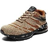Scarpe da Ginnastica Uomo Donna Scarpe Corsa Air Cushion Sportive Running Atletico Allacciare Sneakers