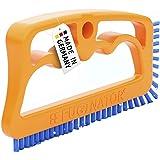 Fuginator - Cepillo para Juntas de Azulejos, Color Naranja y Azul - Innovador Cepillo de lechada para Limpieza de Juntas en e