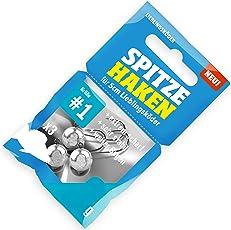 Lieblingsköder Spitze Haken Gr. 1-3 Jighaken für Gummifische & Jigs, Jigköpfe für Gummiköder, Bleiköpfe für Gummishads
