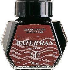 Waterman Ink Bottle, Brown