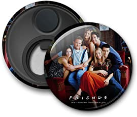"""Mc Sid Razz Official"""" Friends Tv Series"""" On the Couch 2 in 1 [ Fridge Magnet + Bottle Opener ] licensed by Warner Bros"""
