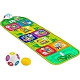 Chicco Tappeto Musicale Bambini Jump & Fit Playmat, Gioco Elettronico e Interattivo con Luci e Suoni, Gioco della Campana per
