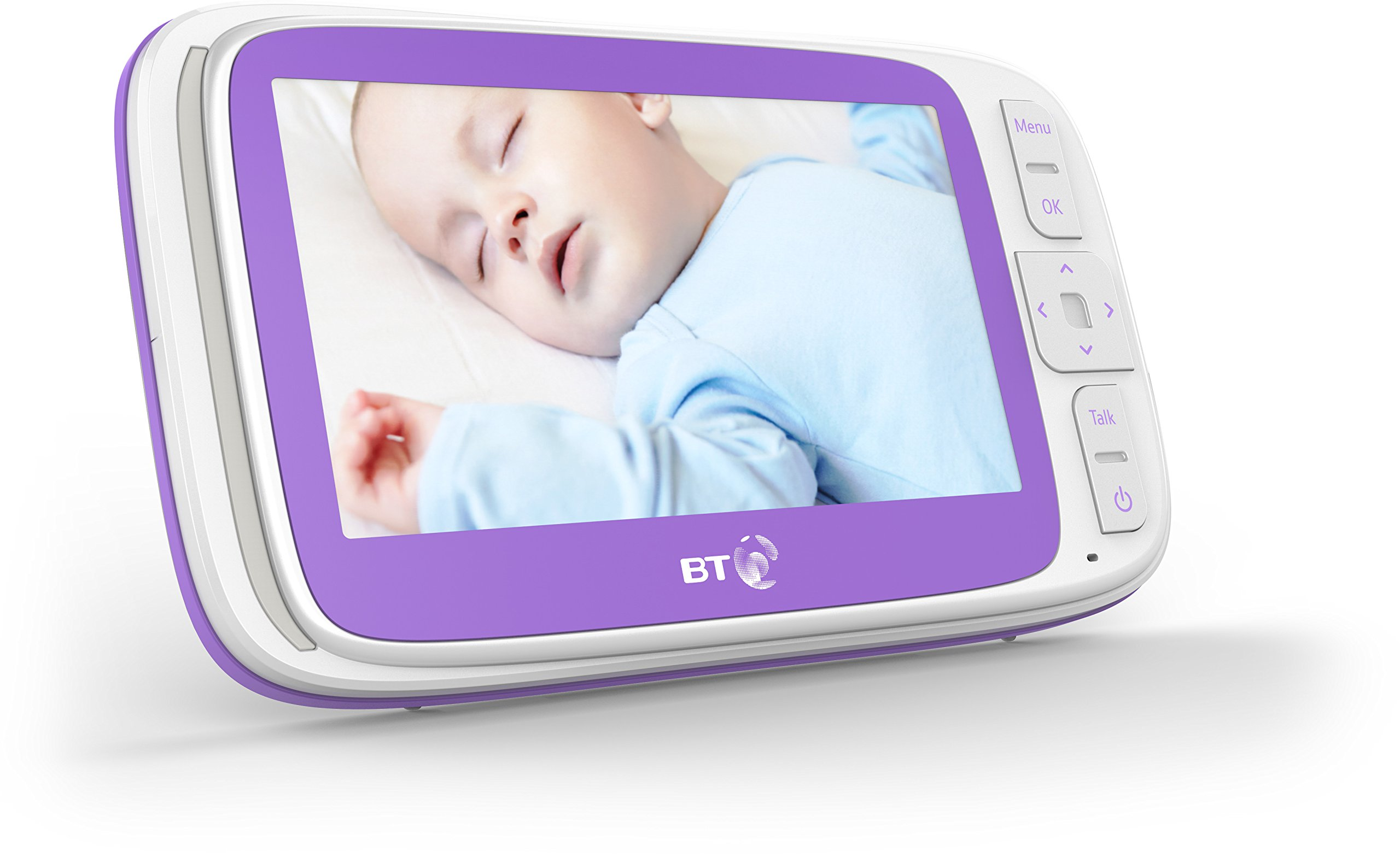 BT Video Baby Monitor 6000 BT 5 inch screen Temperature indication / 5 lullabies Remote control pan and tilt mechanism 2