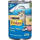 Purina Friskies 12099264 iskies Ocean Platter Cat Wet Food 400g(Pack of 1)