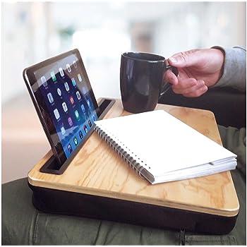 red 5 laptop lap desk tray with tablet slot amazon co uk electronics rh amazon co uk