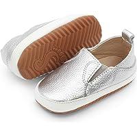 Dotty Fish Chaussures Enfants Décontractées en Cuir. Baskets Enfants à Semelle en Caoutchouc. Chaussures Antidérapantes…