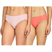 Van Heusen Women's 33102 Plain Bikini (Pack of 2)