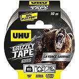 UHU Grizzly plakband, zeer sterk en duurzaam, 100% waterbestendig - 10 m