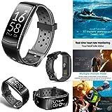 Smart Watch Wasserdicht Activity Tracker mit Herzfrequenz monitor-new Fitness Tracker Qutdoor Sport Q8IP68Schwimmen Armband