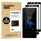 iVoler [2 Pack] Pellicola Vetro Temperato per Sony Xperia XZ2 Compact, [Copertura Completa] Pellicola Protettiva…