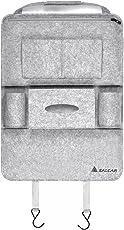 Salcar - Auto Rückenlehnenschutz 3mm Filz Organizer zum kinderleichten Aufbewahren von iPads, Getränken oder Zeitschriften, Aufbewahrungsbeutel