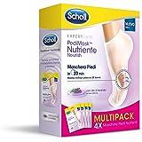 Scholl Pedimask voedend voetmasker met lavendelolie, 4 paar hydraterende sokken