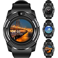 Faawn Smart Watch with Bluetooth, Sim Card (4G Supported ) Health and Fitness Tracker Smart Watches for Mens Boys and…