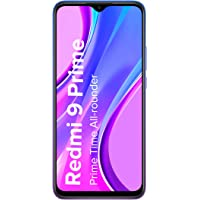Redmi 9 Prime (Space Blue, 4GB RAM, 64GB Storage)- Full HD+ Display & AI Quad Camera