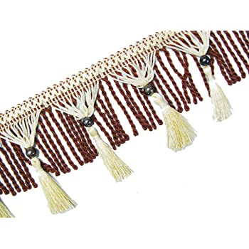 indian Lieferung wulstige Band trimmen 3,8 cm breit dekoratives N/ähen Handwerk um 9 Meter
