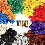 WYSWYG byggstenar 1000 stycken byggstenar byggstenar för 6 år upp barn kompatibla med alla större varumärken 10 klassisfärgfä