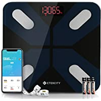 Etekcity Bilancia Pesapersone Digitale Bilancia Impedenziometrica Bluetooth Wireless con Display LED per iOS e Android…