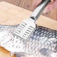 Coltello da pesce  raschietto per pesce  squama pesce in acciaio inox  strumento da cucina per rimuovere efficacemente le squame di pesce