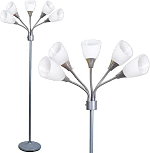 GREEN PLASTIC SHADE REPLACEMENT FOR MEDUSA STYLE MULTI ARM FLOOR LAMPS