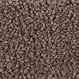 Teppichboden Auslegware Meterware Hochflor Shaggy Langflor Velour braun grau 400 und 500 cm breit, verschiedene Längen