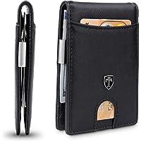 TRAVANDO Slim Wallet with Money Clip Rio RFID Blocking Wallet - Credit Card Holder - Minimalist Bifold Wallet for Men…