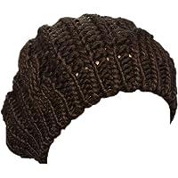 Boolavard Nuovi arrivi donna inverno caldo maglia uncinetto Slouch larghi Beret Beanie cappello Cap TM - nero, rosso…