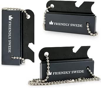 The Friendly Swede - 3er-Set Feuerstein-Blöcke aus Magnesium Feuerstahl Flint Feuerstarter Firestarter Survival-Ausrüstung