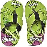 Marvel Avengers by Toothless Kids Boys Flip-Flops by Toothless Green Flip-Flops