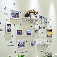 Artzfolio Wall Photo Frame White 4X6-7Pc;5X7-2Pc;6X8-1Pc;Set of 10 Pcs
