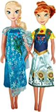 Halo Nation Frozen Sister Doll Anna & Elsa Big Size 42 cm