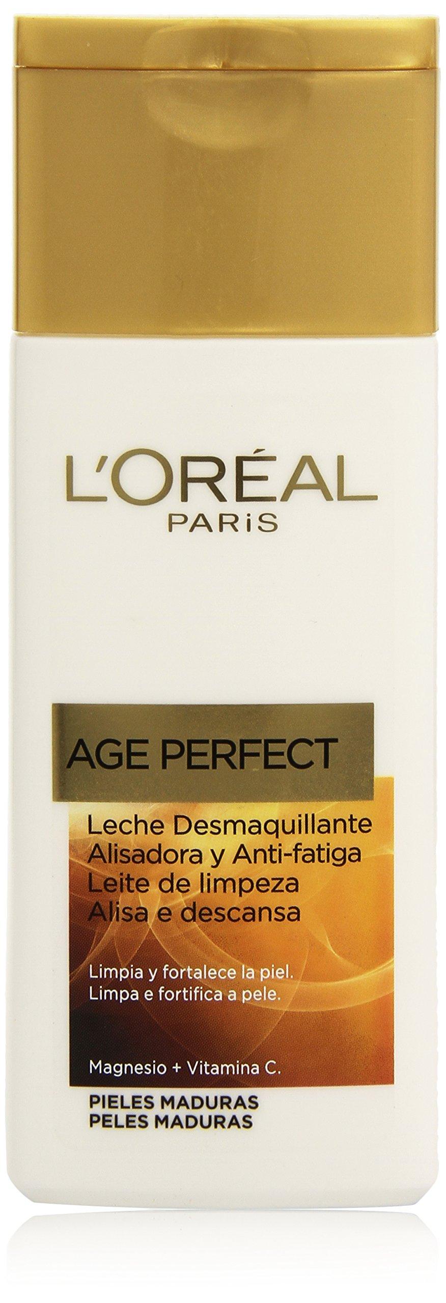 L'Oréal Paris Dermo Expertise Leche Desmaquillante Age Perfect, 200 ml