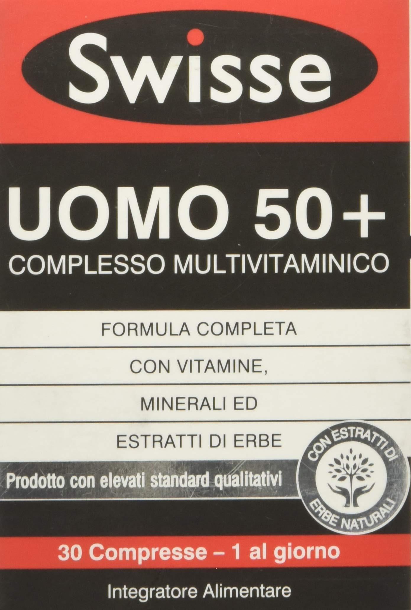 Swisse Multivitaminico Uomo 50+ - 30 Compresse 1 spesavip