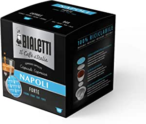 Bialetti Caffè d'Italia Napoli (Gusto Forte) - 8 x 16 capsule