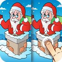 Weihnachts Finde die Unterschiede für Kinder und Erwachsene - Weihnachten feiern