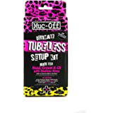 Muc-Off Ultimate Tubeless Setup Kit voor Tubeless Ready Bikes, Road/Gravel/CX 44mm - Inclusief velgband, afdichtingspatches,