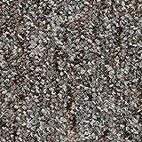 Teppichboden Auslegware Meterware Schlinge meliert grau braun 200, 300, 400 und 500 cm breit, verschiedene Längen