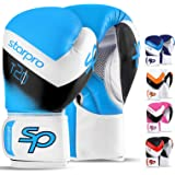 Starpro Boxing Gloves Training Sparring - Muay Thai Kickboxing Fighting Punching Heavy Duty Punch Bag Mitts Fitness Exercise Bag Glove  8oz 10oz 12oz 14oz 16oz   Synthetic Leather for Men and Women