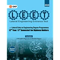 LEET (Lateral Engineering Entrance Test) 2019 - Guide