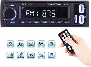 ieGeek. Bluetooth Autoradio MP3, USB/Receiver mit Audio Empfänger/MP3-Player/UKW/FM Radio für Samsung/iPhone, USB/SD/AUX Freisprechfunktion und integriertes Mikrofon PKW Radio
