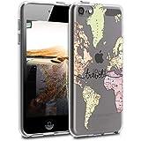 kwmobile Funda Compatible con Apple iPod Touch 6G / 7G (6a y 7a generación) - Carcasa Protectora de TPU - Case Protector Tras