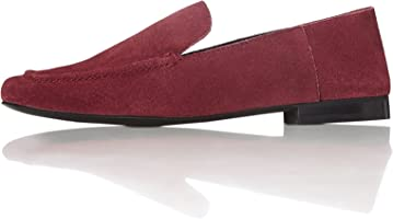 FIND Women's Loafers in Leather with Soft Back