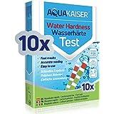Aquakaiser Bandelettes de Test - pour mesurer la dureté de l'eau - Eau Potable/étang/Piscine/Aquarium - sous Emballage Indivi