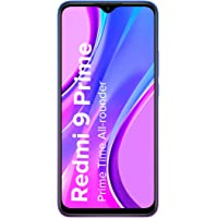 Redmi 9 Prime (Space Blue, 4GB RAM, 64GB Storage)- Full HD+ Display & AI Quad Camera