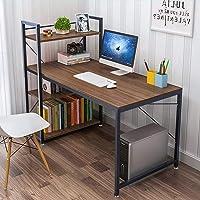 Dripex Holz Schreibtisch Computertisch 120x60x120cm PC-Tisch Bürotisch Officetisch Stabile Konstruktion Tisch für Home…