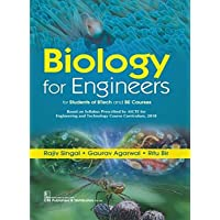Biology For Engineers (Pb 2019): For Students Of Btech And Be Courses