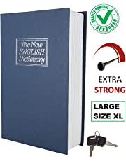 Docoss Hidden Secret Book Safe Vault Box with 2 Keys, Large Size/XL (Assorted Colour)