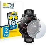 BROTECT Protector Pantalla Anti-Reflejos Compatible con Umidigi Uwatch GT (2 Unidades) Pelicula Mate Anti-Huellas