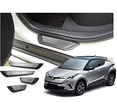 PW382-10000 Genuine Toyota C-HR 2016 onwards Aluminium Scuff Plates